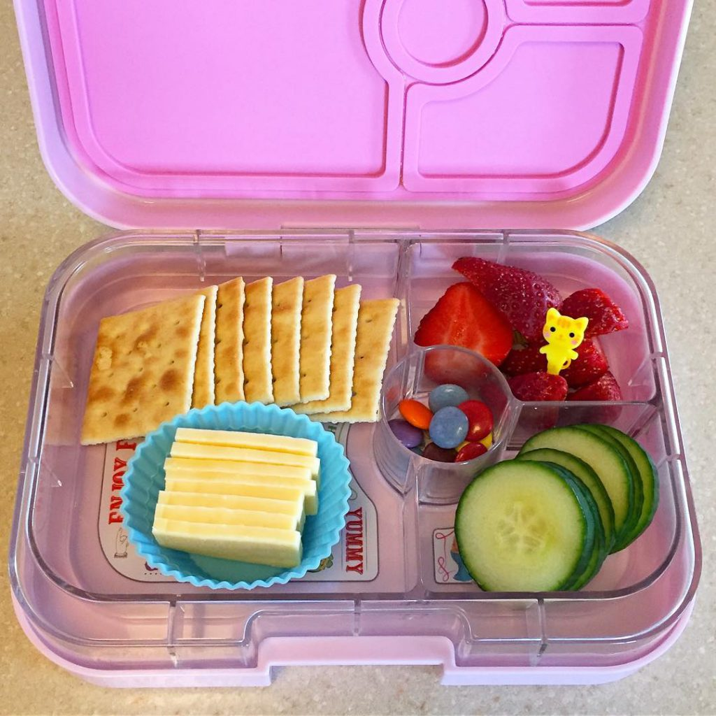 Evening gymnastics snack time mini meal ready in our trustyhellip