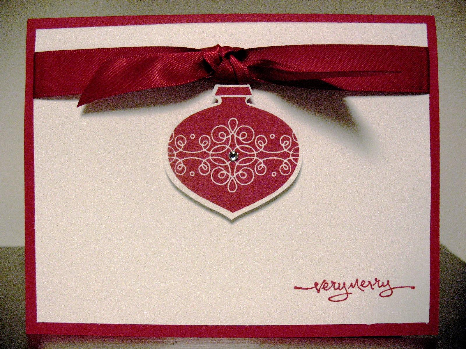 A Very Merry Handmade Christmas Card Goldstar Glitter