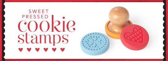 Sweet Pressed Cookie Press Stamp Stampin' Up!