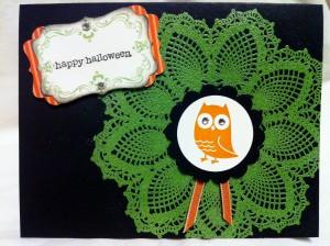 Halloween Card Elegant Spooky Style