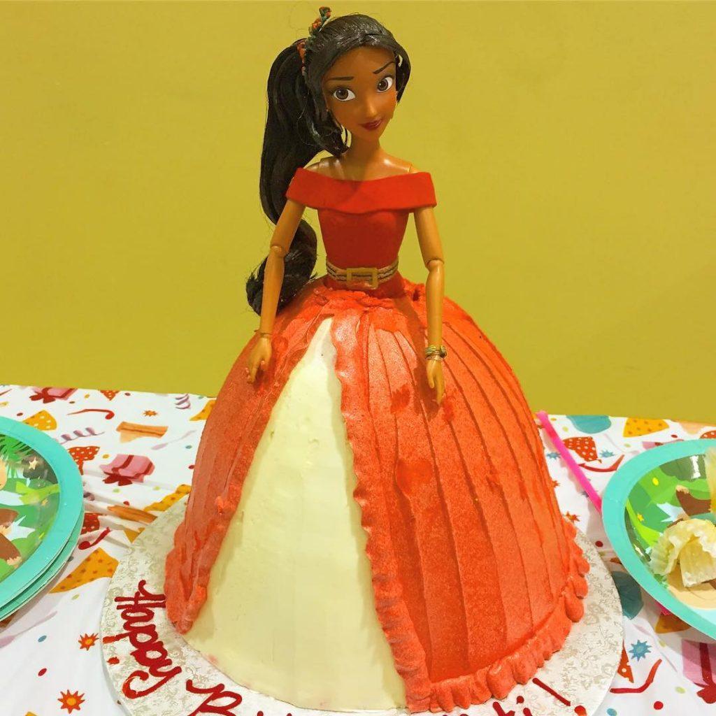 Disney Princess Elena of Avalor cake Amazingly tasty cake fromhellip