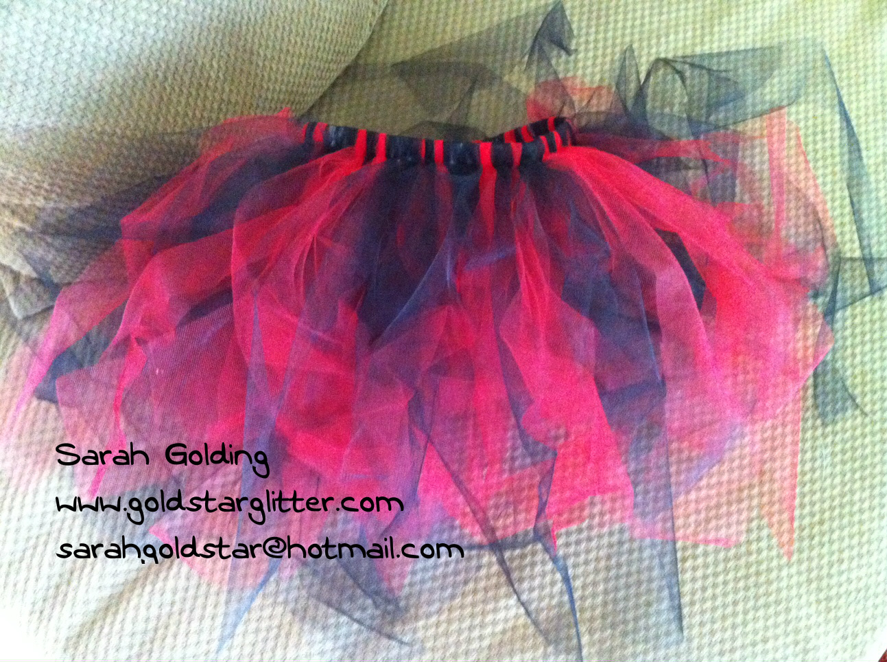 Handmade do it yourself tutu goldstar glitter do it yourself tutu for pirate party solutioingenieria Images