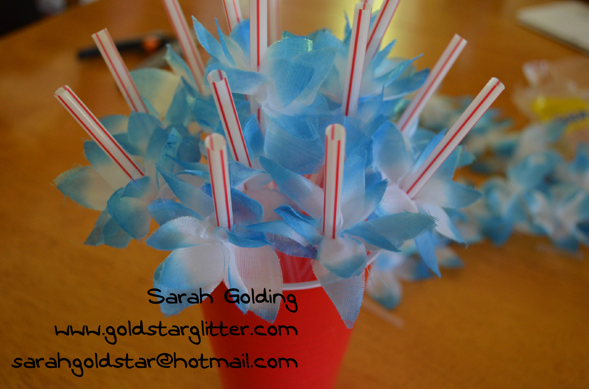 Mexican Festive Party Straws