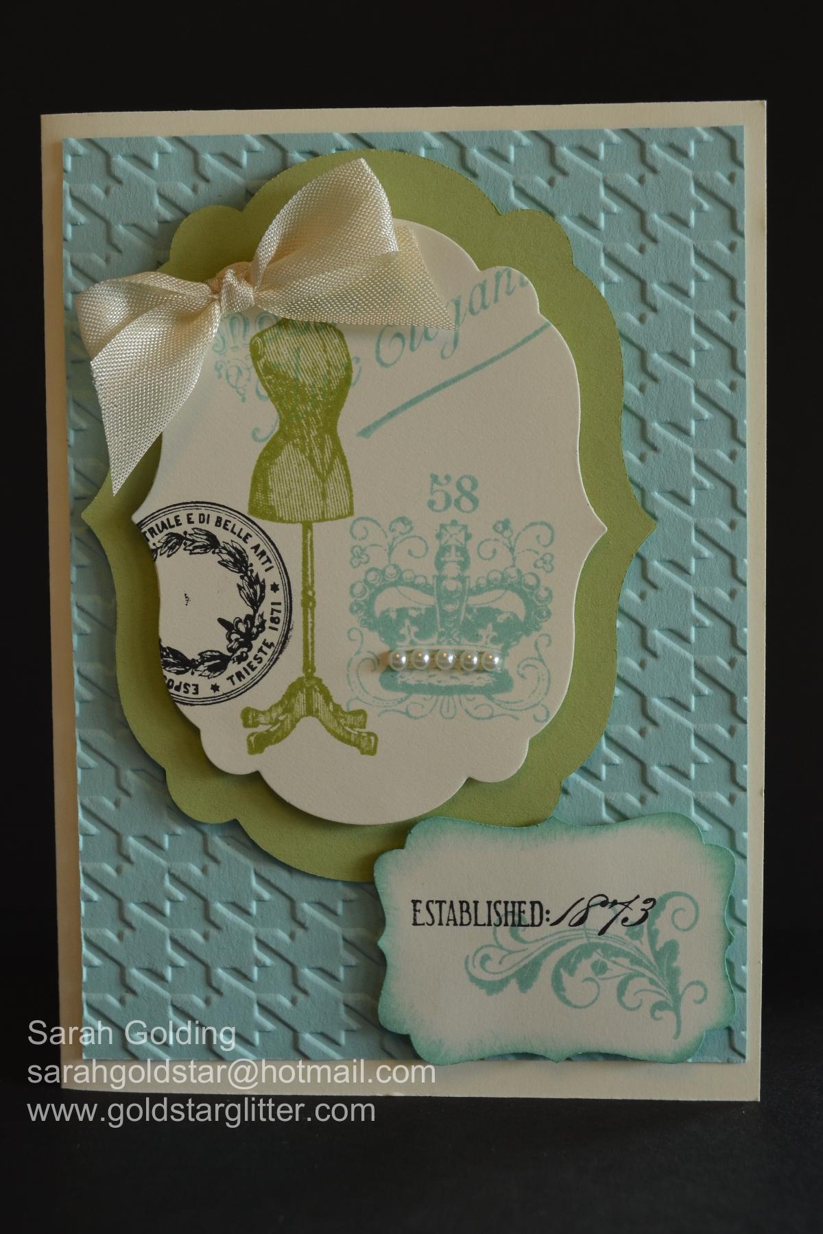 Established Elegance Card