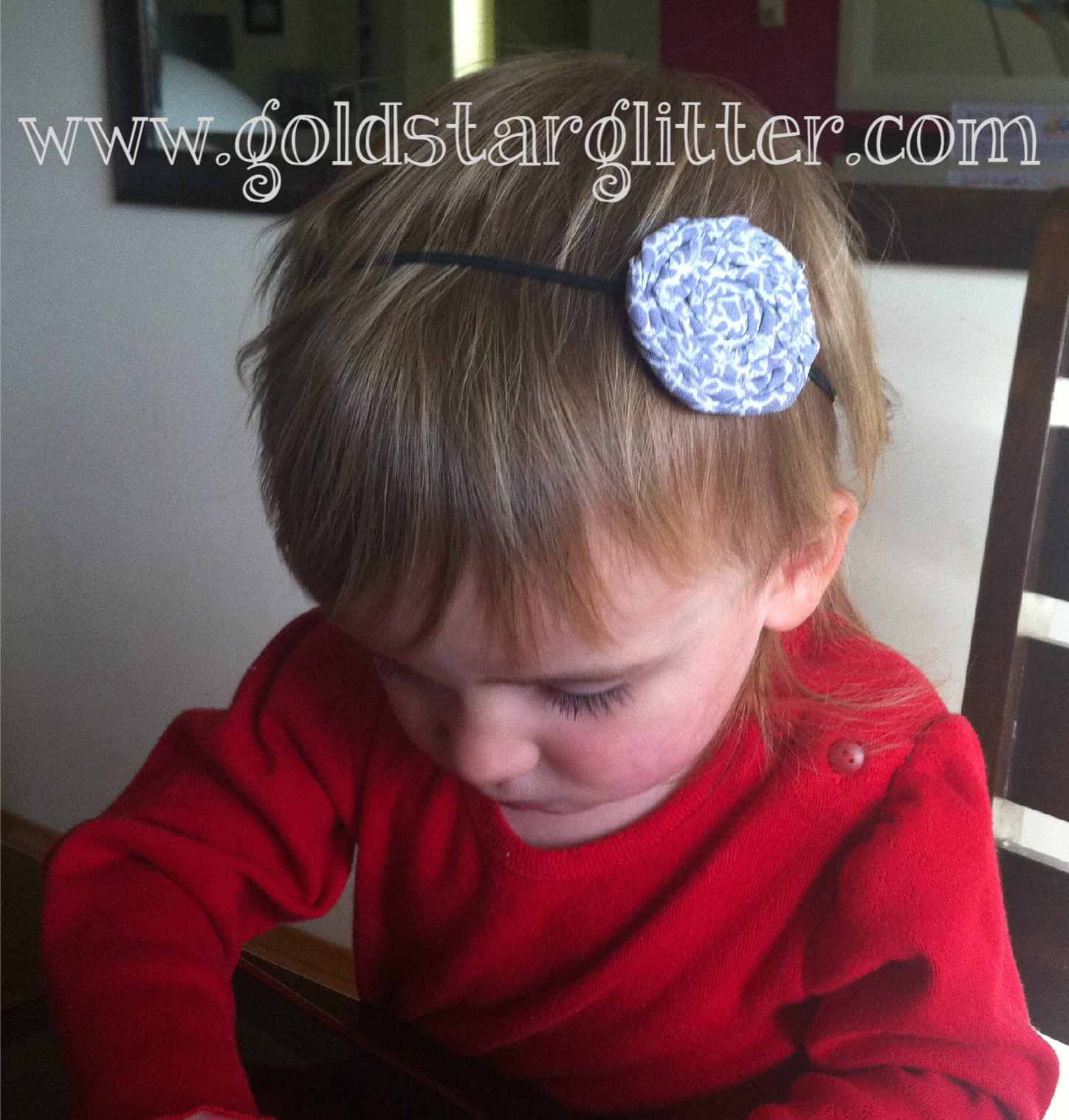 Handmade Rosette Headband