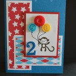 Child Balloon Birthday Card