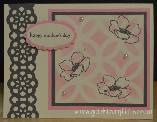 Pretty Mothers Day Card