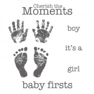 Baby Prints Stamp Set Stampin' Up!