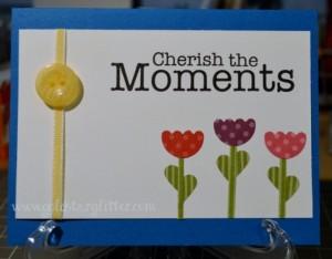 Flower Punch Art Card