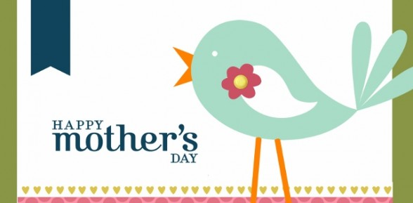 Mothers Day Card using My Digital Studio