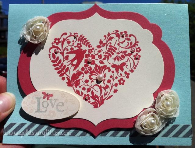 love wedding shower card