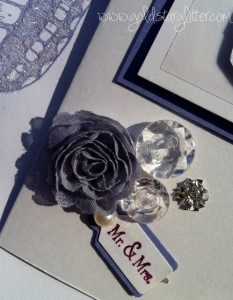 Handmade Wedding Card Cluster