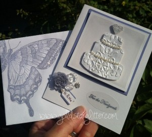 Wedding Card with Decorated Envelope