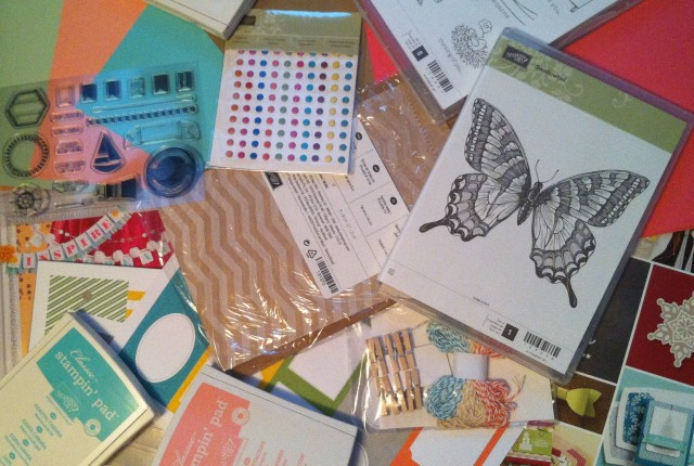 Stampin Up Craft Haul