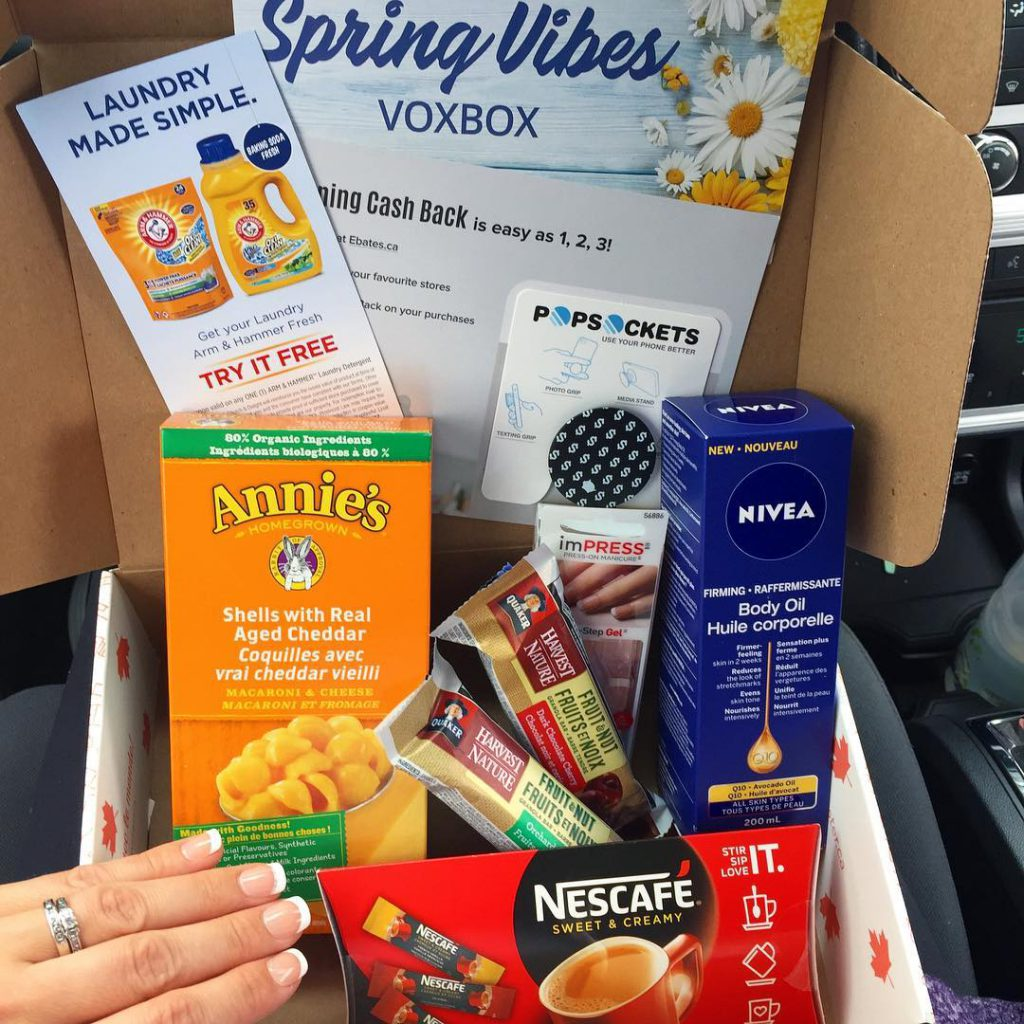 Heres the complete Spring Vibes Voxbox I received from Influensterhellip