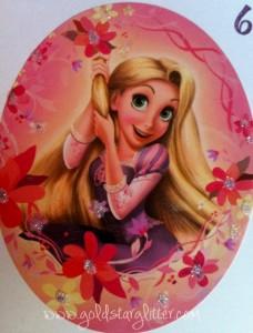 Close Up Rapunzel Card