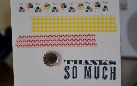How to Make Easy & Beautiful Cards – Washi Tape