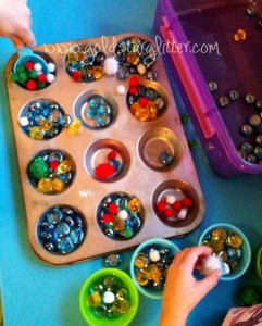 Sensory Playing Christmas Theme