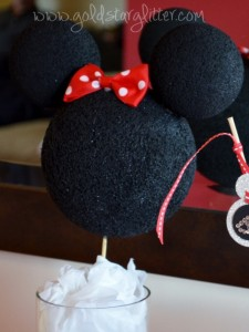 Minnie Mouse Party Centerpiece Decor