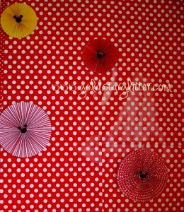 Minnie Mouse Party Photo Booth Backdrop