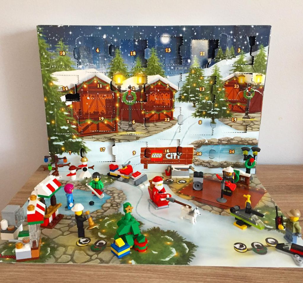 Heres everyone we got in our Lego City Advent Calendarhellip