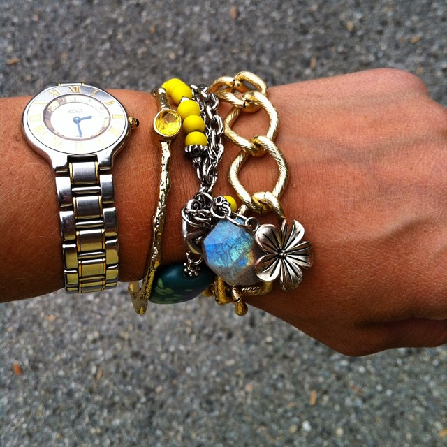 Today's arm party fun ?