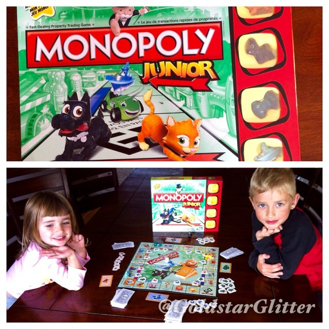 So much fun playing this Monopoly Junior game with the kids today. Easy to learn and fun to play. Really happy we got it and definitely recommend ? great as a gift for Christmas ? #GameNight #Contest #voxboxcanada #hasbro We honestly and truly enjoy this game. Already played it twice.  Thanks @influenster for choosing me to review this game free!