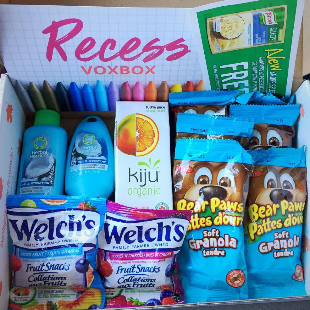 Received the Recess Voxbox free from influensterca for testing purposeshellip