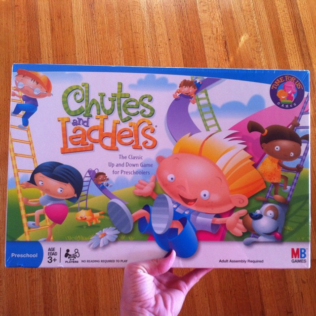 New Chutes and Ladders board game by Hasbro ?can't wait to play with the kids and spend more quality time? I find board games great for helping teach kids some life skills such as patience while everyone waits for their turn and also how to deal with disappointment if they don't win. And they're just plain fun? #hasbro #gamenight #influenster #InfluensterNation #boardgames @influenster
