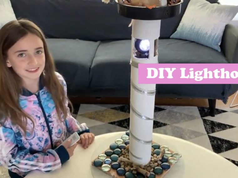 DIY Lighthouse Most Magnificent Thing